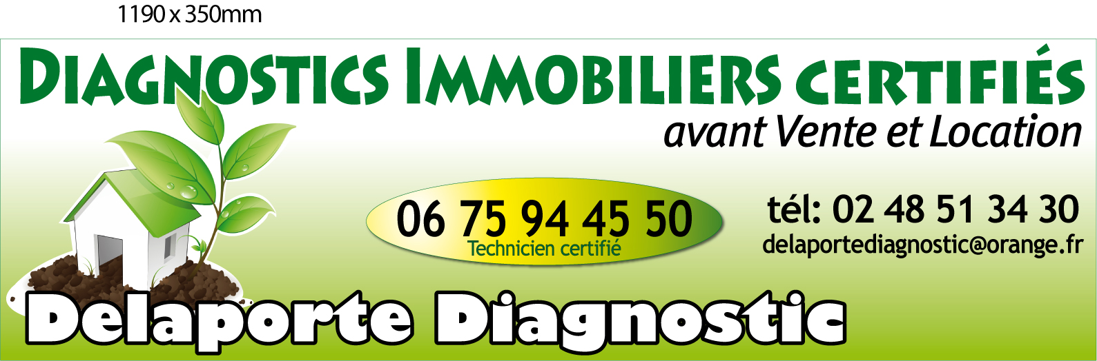 Logo DELAPORTE DIAGNOSTIC