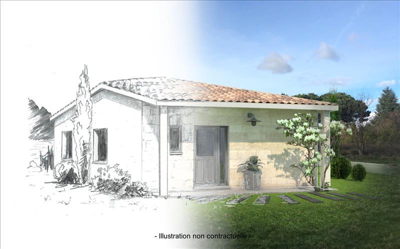 Vente Terrain ARVEYRES (33500) - 4 pièces - 542 m² -