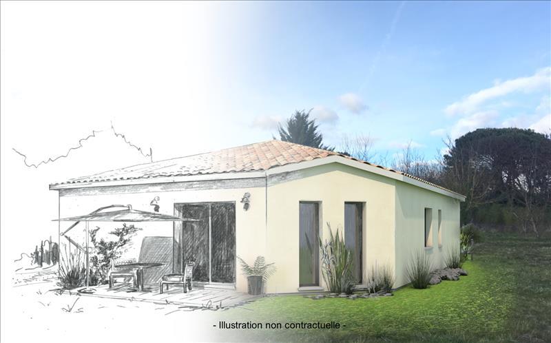 Vente Terrain ARVEYRES (33500) - 4 pièces - 480 m² -