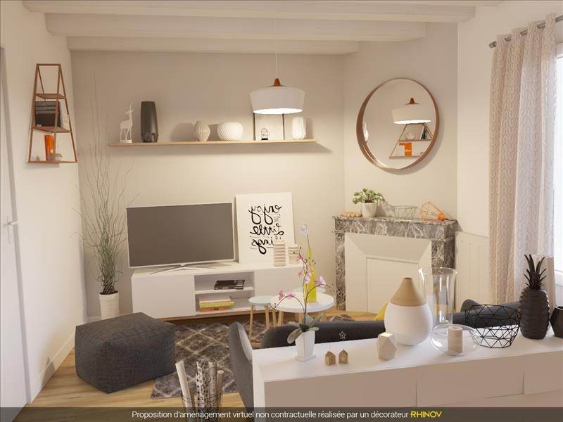 Vente Maison RIOUX MARTIN (16210) - 3 pièces - 103 m² -