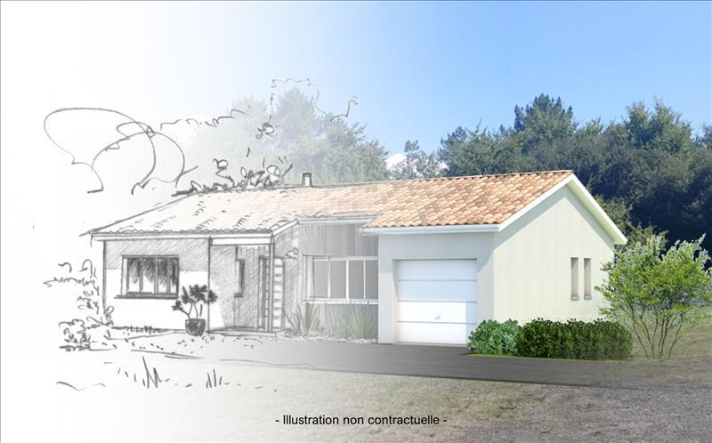 Vente Terrain PONTENX LES FORGES (40200) - 1800 m² -