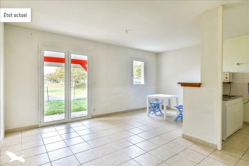 Vente Appartement BIAS (40170) - 3 pièces - 62 m² -