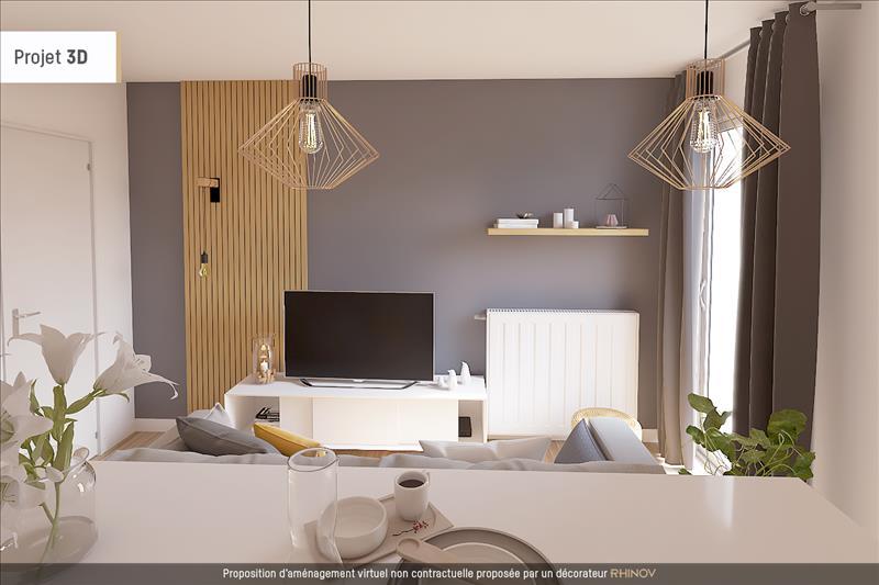 Vente Appartement ST OUEN L AUMONE (95310) - 2 pièces - 43 m² - Quartier Centre ville