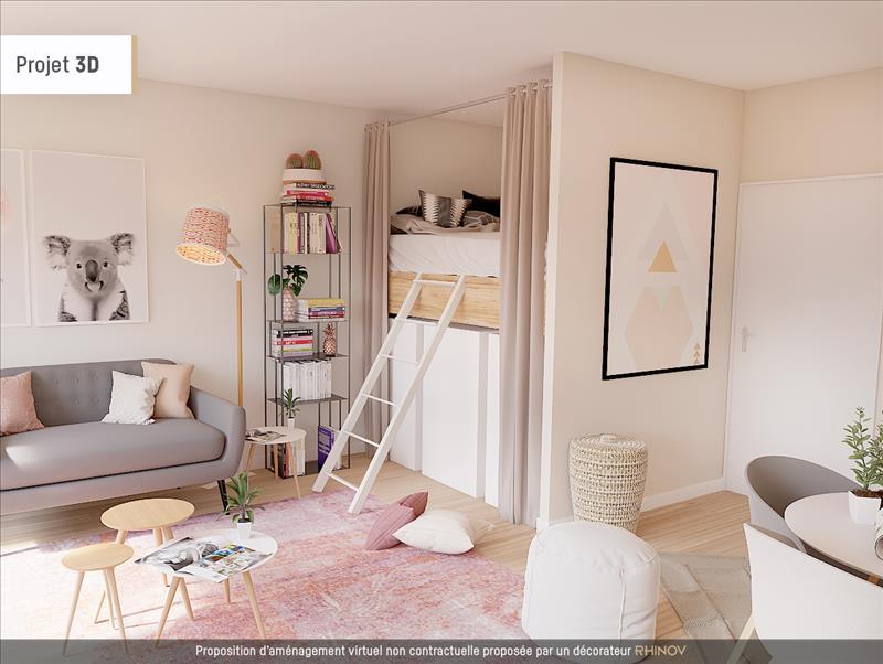 Vente Appartement ST OUEN L AUMONE (95310) - 1 pièce - 34 m² - Quartier Centre ville