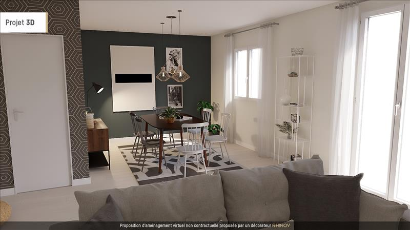 Vente Maison TOURS (37100) - 4 pièces - 90 m² - Quartier Tours Nord
