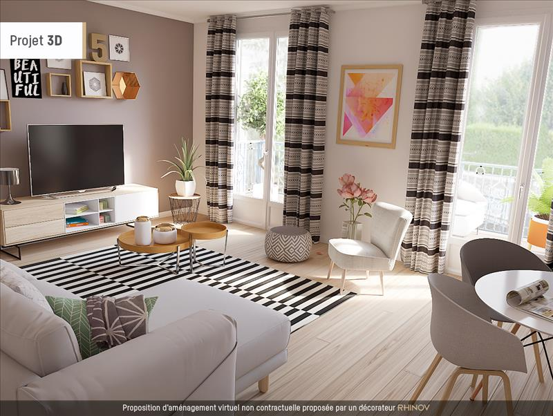 Vente Maison MONNAIE (37380) - 4 pièces - 80 m² -