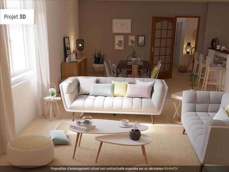 Vente Immeuble ARTANNES SUR INDRE (37260) - 5 pièces - 240 m² -