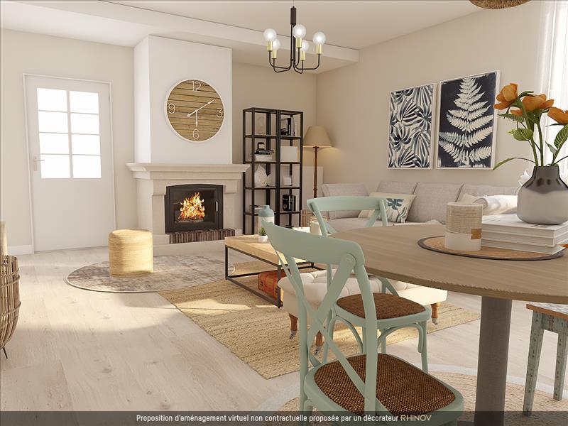 Vente Maison AZAY LE RIDEAU (37190) - 4 pièces - 100 m² -