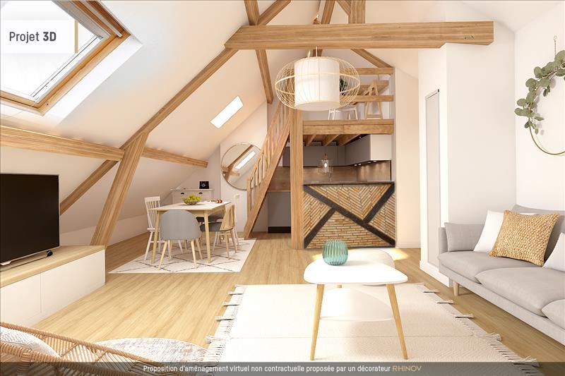 Vente Appartement TOURS (37000) - 1 pièce - 31 m² - Quartier Tours Centre-ville