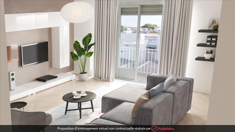 Vente Appartement ROYAN (17200) - 3 pièces - 71 m² -