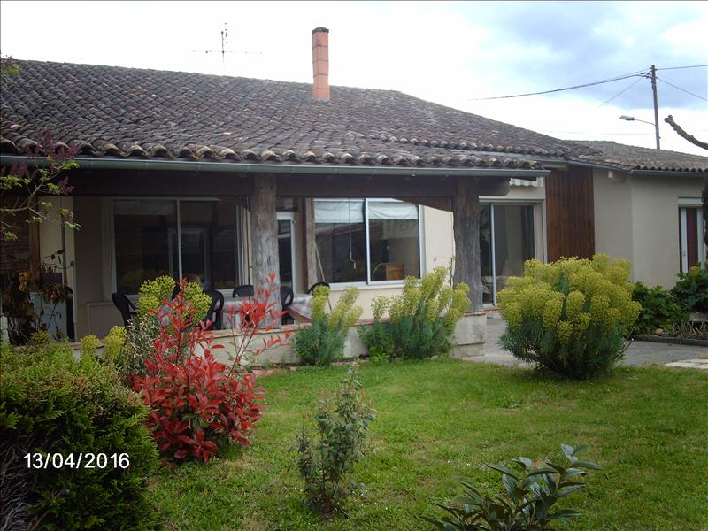 Maison MIRAMONT DE GUYENNE - 5 pièces  -   130 m²