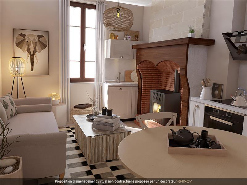 Vente Maison AUTERIVE (31190) - 3 pièces - 60 m² -