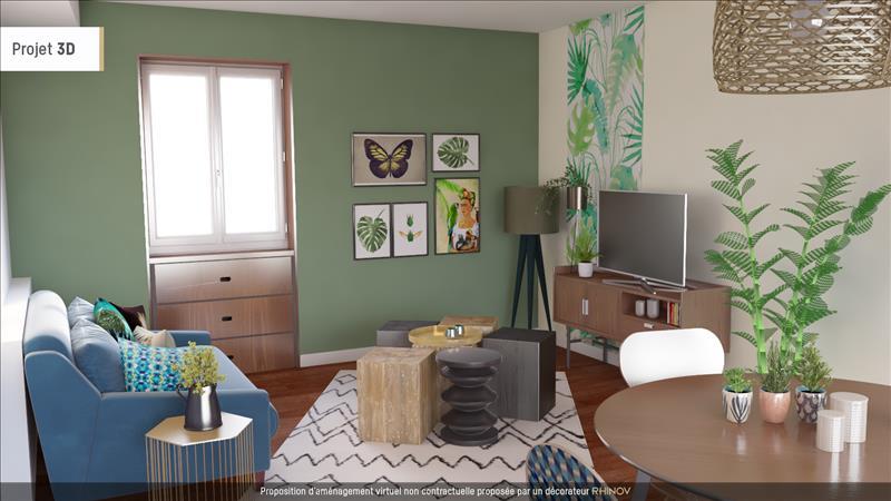 Vente Maison LA VILLEDIEU (17470) - 3 pièces - 78 m² -
