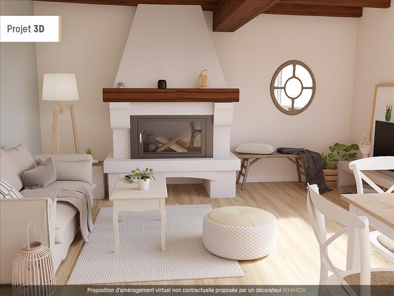 Vente Maison ST HILAIRE DE VILLEFRANCHE (17770) - 4 pièces - 93 m² -