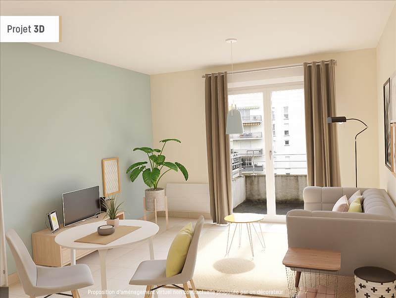 Vente Appartement AGEN (47000) - 3 pièces - 54 m² - Quartier Le Lac - Malconte