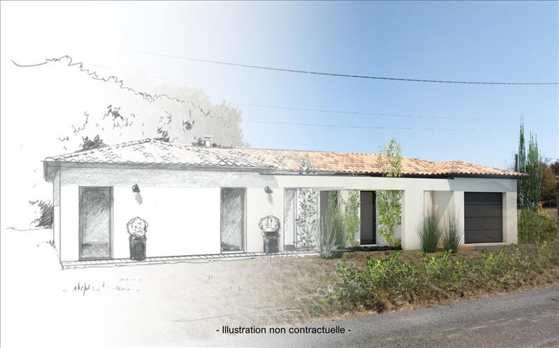 Vente Terrain ARBIS (33760) - 979 m² -