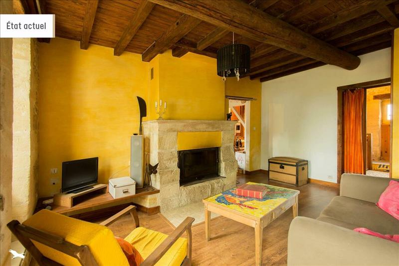 Vente Maison BEGUEY (33410) - 6 pièces - 135 m² -