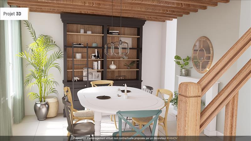 Vente Maison ST SAUVIER (03370) - 7 pièces - 129 m² -