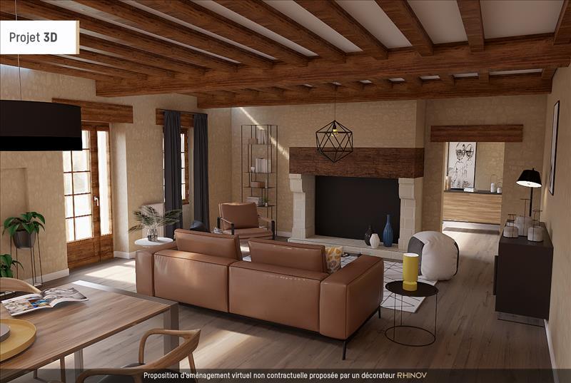 Vente Maison ST AVIT SENIEUR (24440) - 4 pièces - 160 m² -