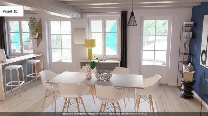 Vente Maison CREVANT (36140) - 3 pièces - 80 m² -