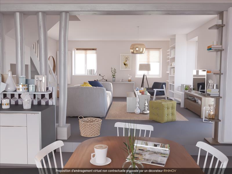 Vente Maison MOSNES (37530) - 6 pièces - 120 m² -