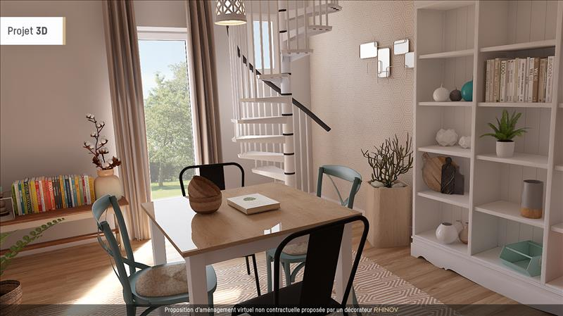 Vente Maison CHARS (95750) - 3 pièces - 58 m² -