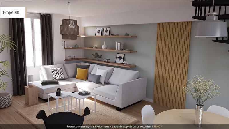 Vente Appartement BRIVE LA GAILLARDE (19100) - 3 pièces - 75 m² - Quartier Centre Ville - Champanatier - Brune - Pont Cardinal