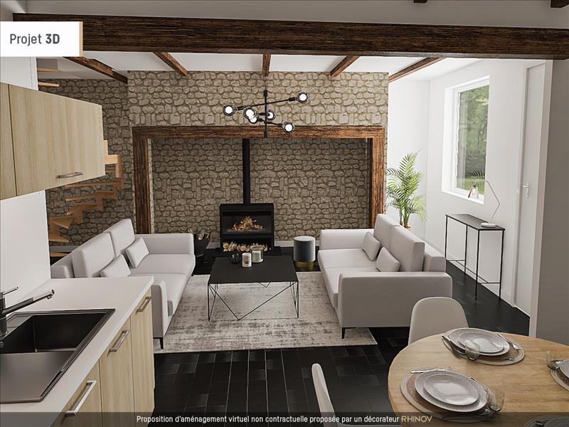 Vente Maison AUBAZINES (19190) - 4 pièces - 93 m² -