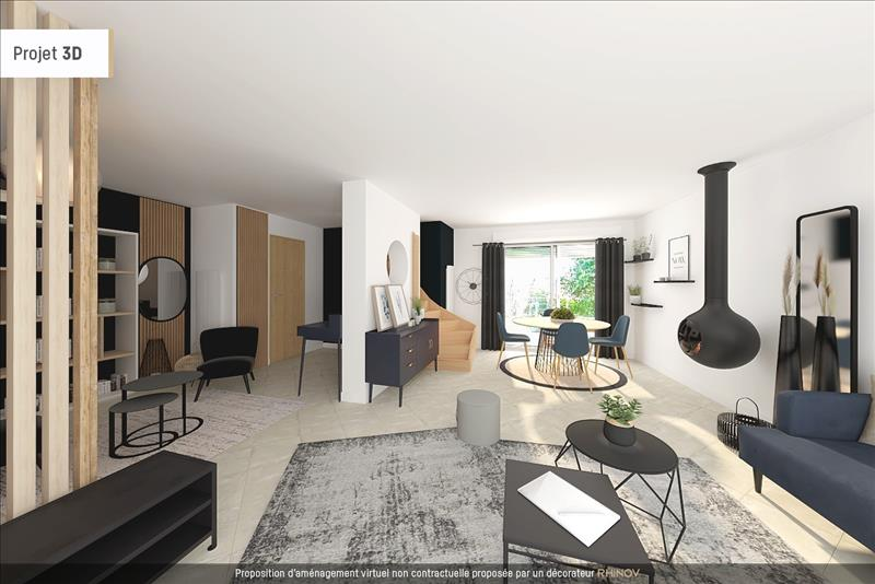 Vente Maison ARGENTEUIL (95100) - 5 pièces - 100 m² - Quartier Argenteuil|Orgemont - Volembert
