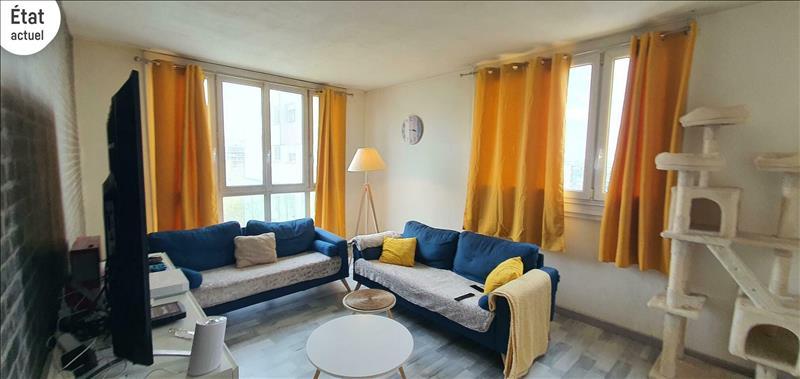 Vente Appartement ARGENTEUIL (95100) - 4 pièces - 80 m² - Quartier Argenteuil|Val Sud