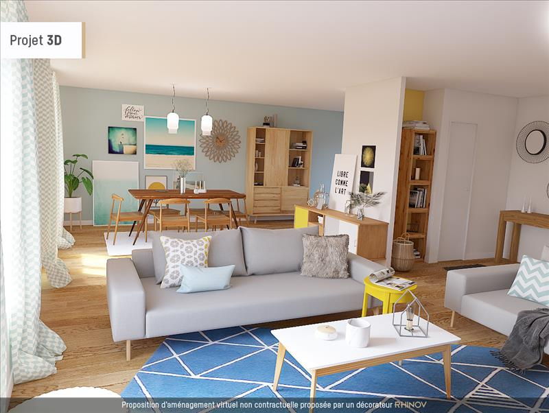 Vente Appartement ROCHEFORT (17300) - 5 pièces - 115 m² - Quartier Centre-ville