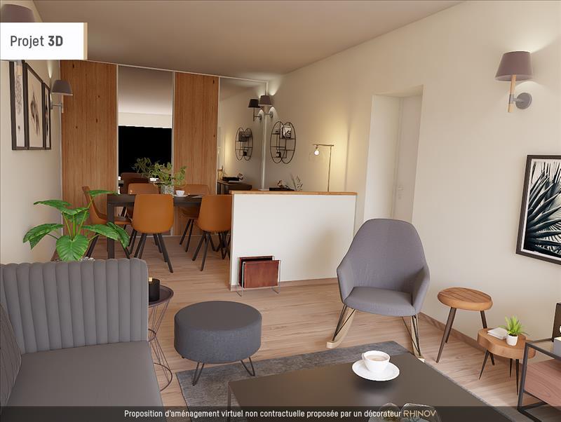 Vente Appartement ROCHEFORT (17300) - 3 pièces - 83 m² - Quartier Centre-ville