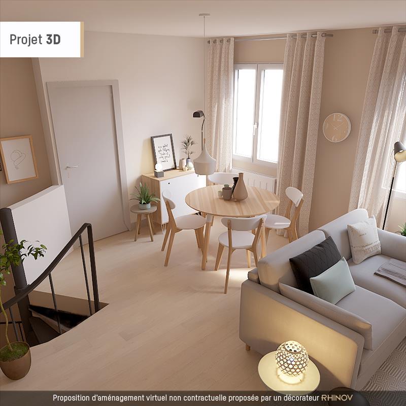 Vente Maison ROCHEFORT (17300) - 4 pièces - 88 m² - Quartier Champlain Anatole France