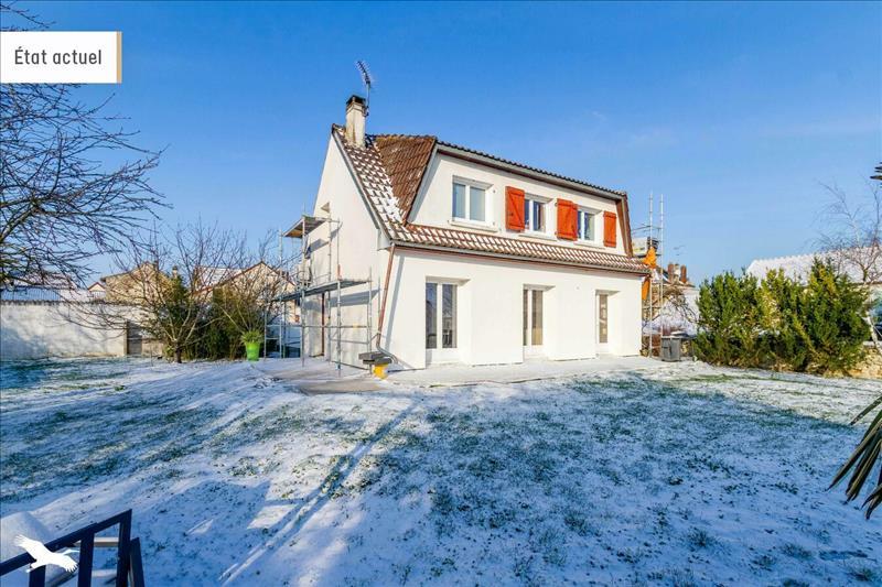 Vente Maison BOUAFLE (78410) - 5 pièces - 125 m² -