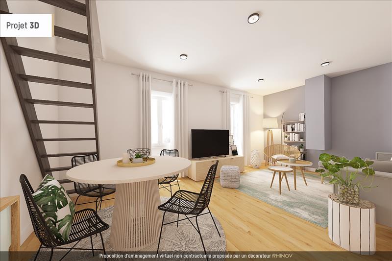 Vente Appartement BOUAFLE (78410) - 3 pièces - 69 m² -