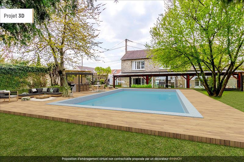 Vente Maison BOUAFLE (78410) - 6 pièces - 183 m² -