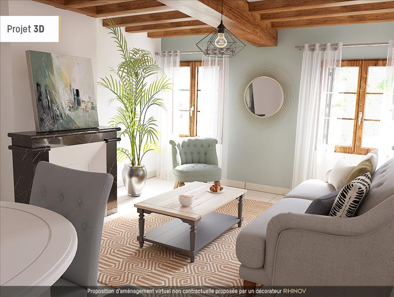 Vente Maison LA CHAPELLE SUR LOIRE (37140) - 4 pièces - 160 m² -