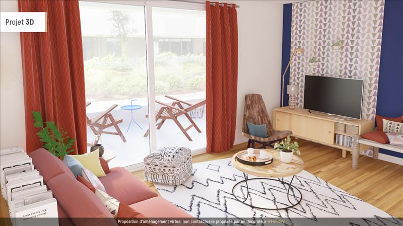 Vente Appartement ANGLET (64600) - 2 pièces - 43 m² -