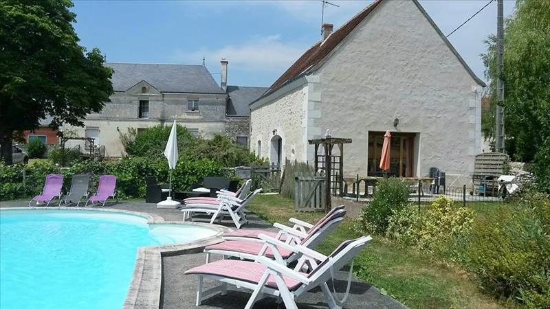 Maison CHAMBOURG SUR INDRE - 14 pièces  -   315 m²
