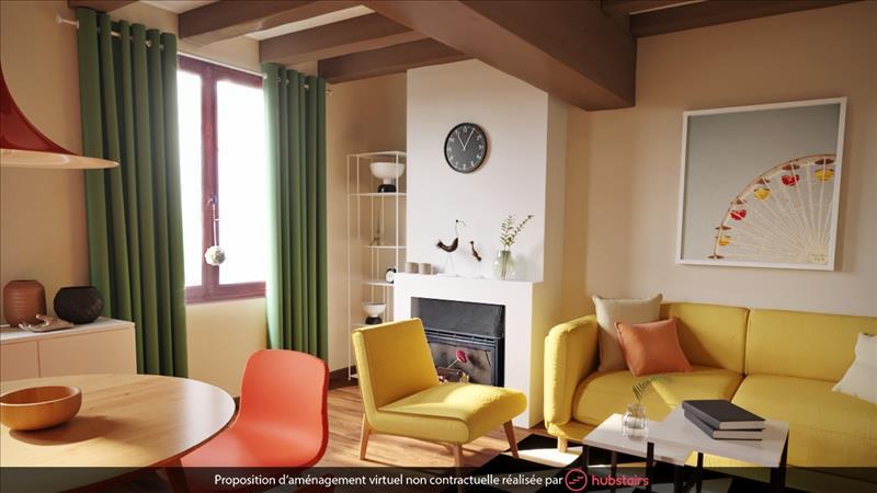 Vente Maison BEAULIEU LES LOCHES (37600) - 4 pièces - 83 m² -