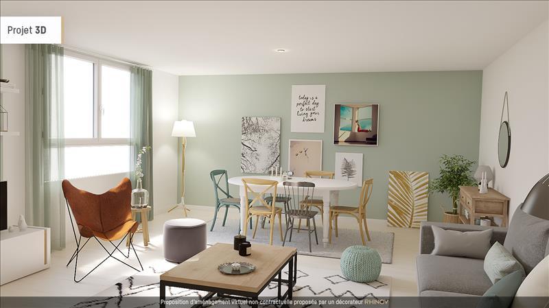 Vente Appartement SAUJON (17600) - 2 pièces - 59 m² -