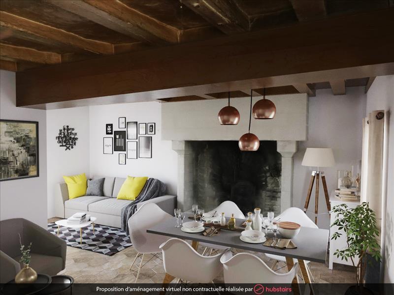 Vente Maison PREAUX (36240) - 5 pièces - 209 m² -
