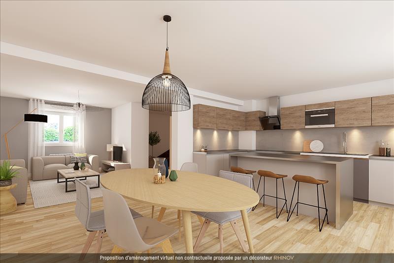 Vente Maison DECINES CHARPIEU (69150) - 5 pièces - 113 m² -