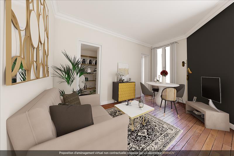 Vente Appartement CLICHY (92110) - 2 pièces - 39 m² -