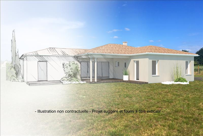 Vente Terrain AMBARES ET LAGRAVE (33440) - 1299 m² -