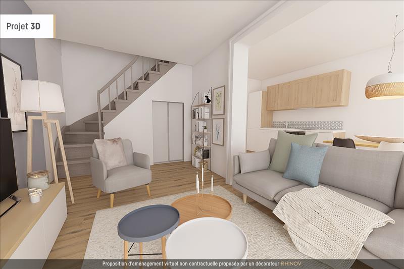 Vente Maison AMBARES ET LAGRAVE (33440) - 3 pièces - 63 m² -