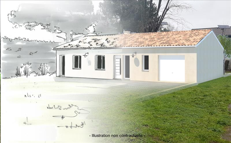 Vente Terrain AMBARES ET LAGRAVE (33440) - 430 m² -