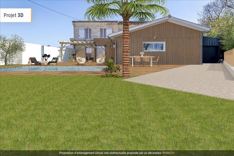 Vente Maison AMBARES ET LAGRAVE (33440) - 3 pièces - 85 m² -