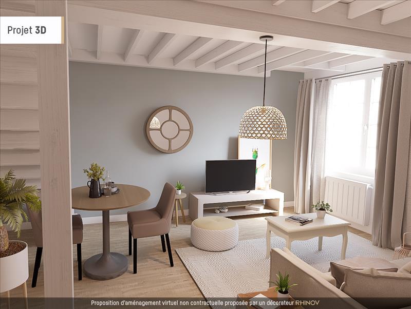 Vente Maison MONTHOU SUR CHER (41400) - 3 pièces - 114 m² -