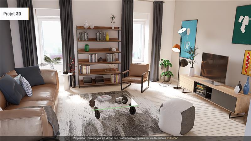 Vente Appartement BREST (29200) - 4 pièces - 94 m² - Quartier Recouvrance - 4 Moulins
